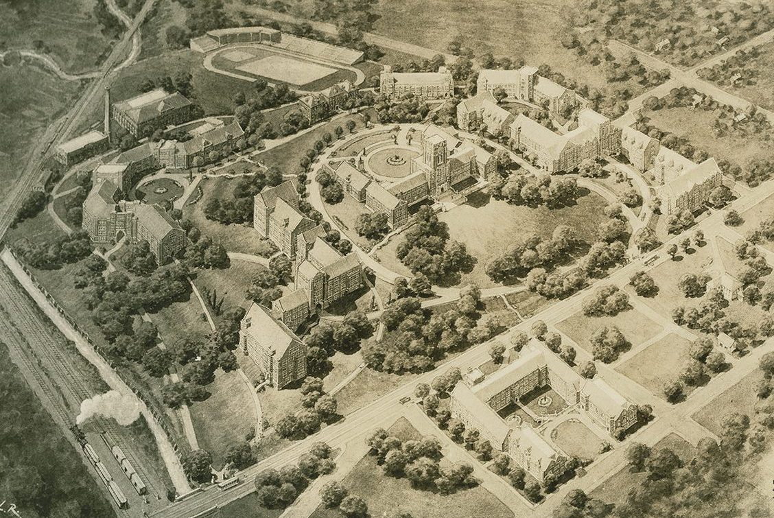 Proposed development of University of Tennessee campus