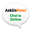 AskUsNow! chat is online