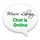 Music Library chat is online
