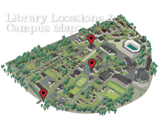 Library Locations and Campus Map