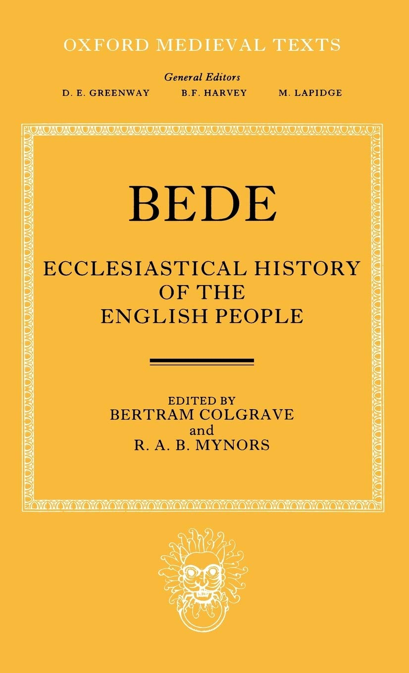 Bede's Ecclesiastical History of the English People Cover