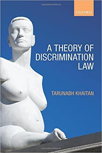 Descrimination Law Cover