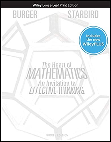The Heart of Mathematics Cover