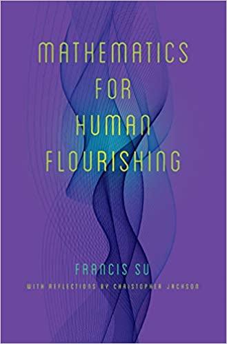 Mathmatics Human for Flourishing Cover