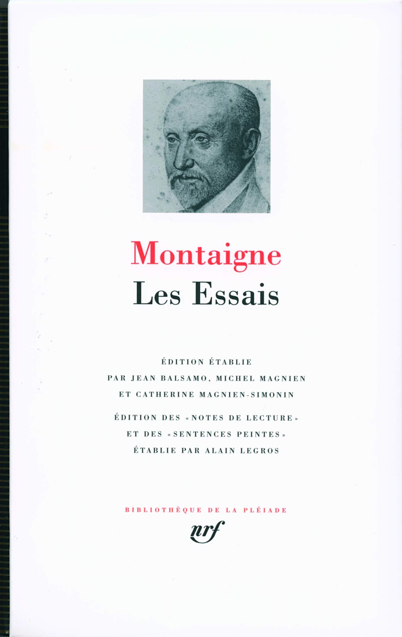 Montaiqune Essais Cover