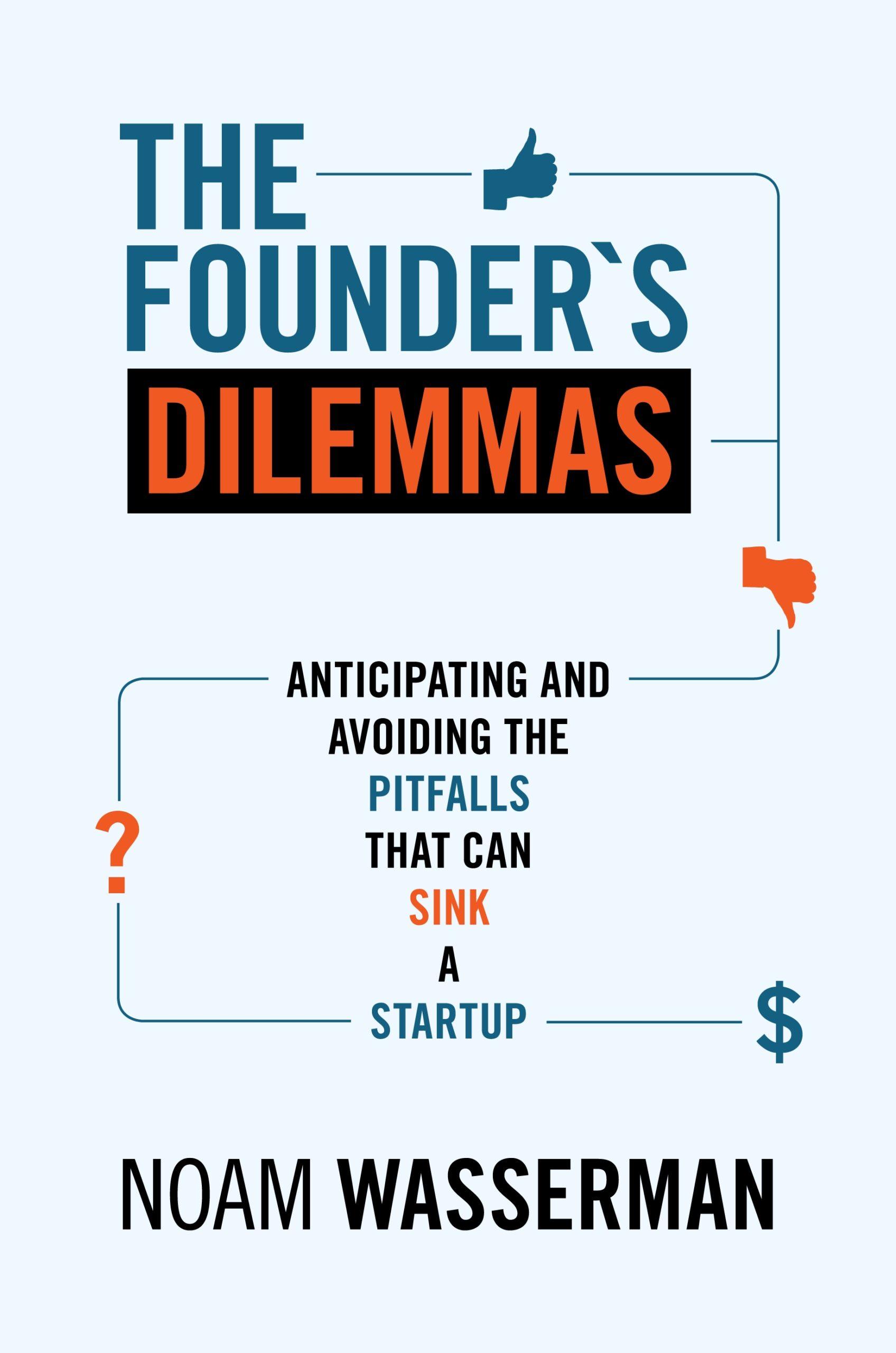 The Founder's Dilemmas Cover