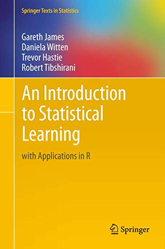 An Introduction to Statistical Learning with Applications in R Cover