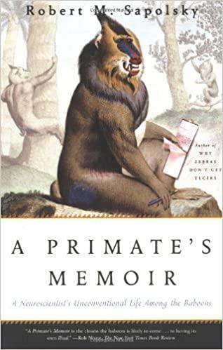 A Primate's Memoir Cover