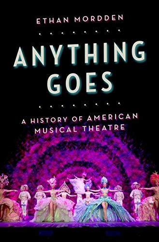Anything Goes: a History of Musical Theatre Cover