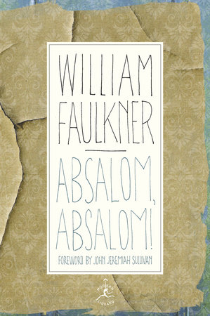 Absolaom, Absalom! Cover