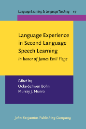 Language Experience in Second Language Speech Learning: in Honor of James Emil Flege Cover