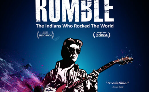 DVD cover featuring illustration of man on rock guitar