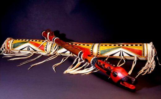 duck head wood flute