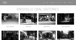 Knoxville oral history project
