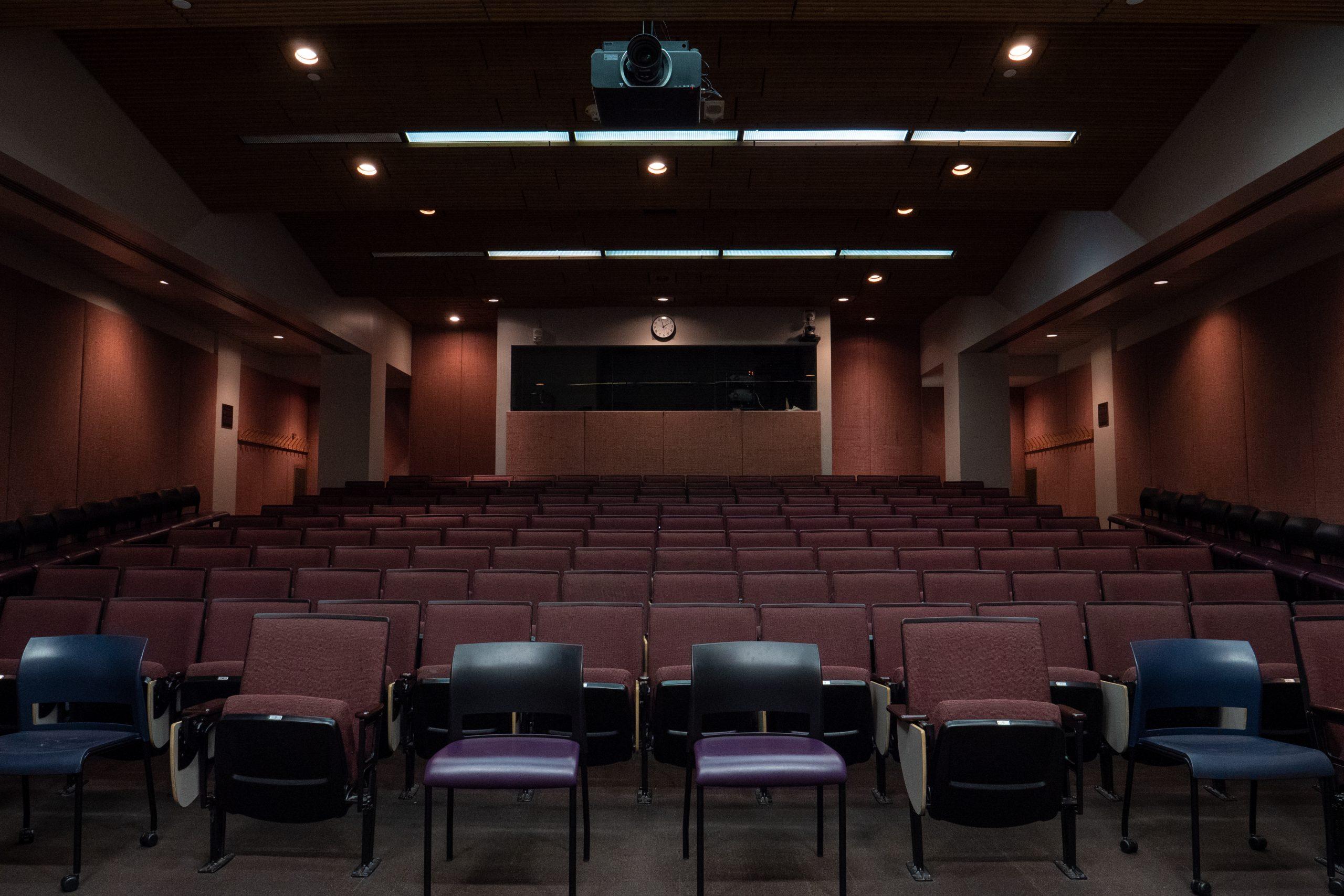 photo of lindsay young auditorium (empty)