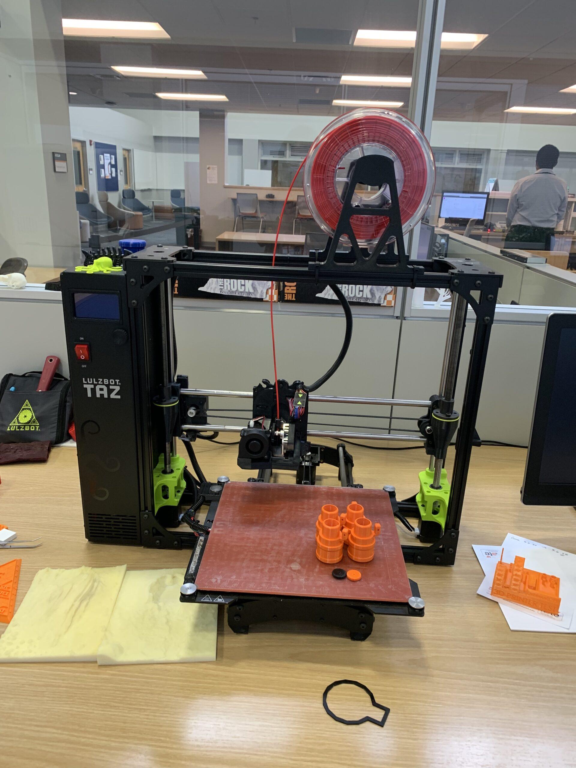 Lulzbot Taz6 Consumer Grade printer