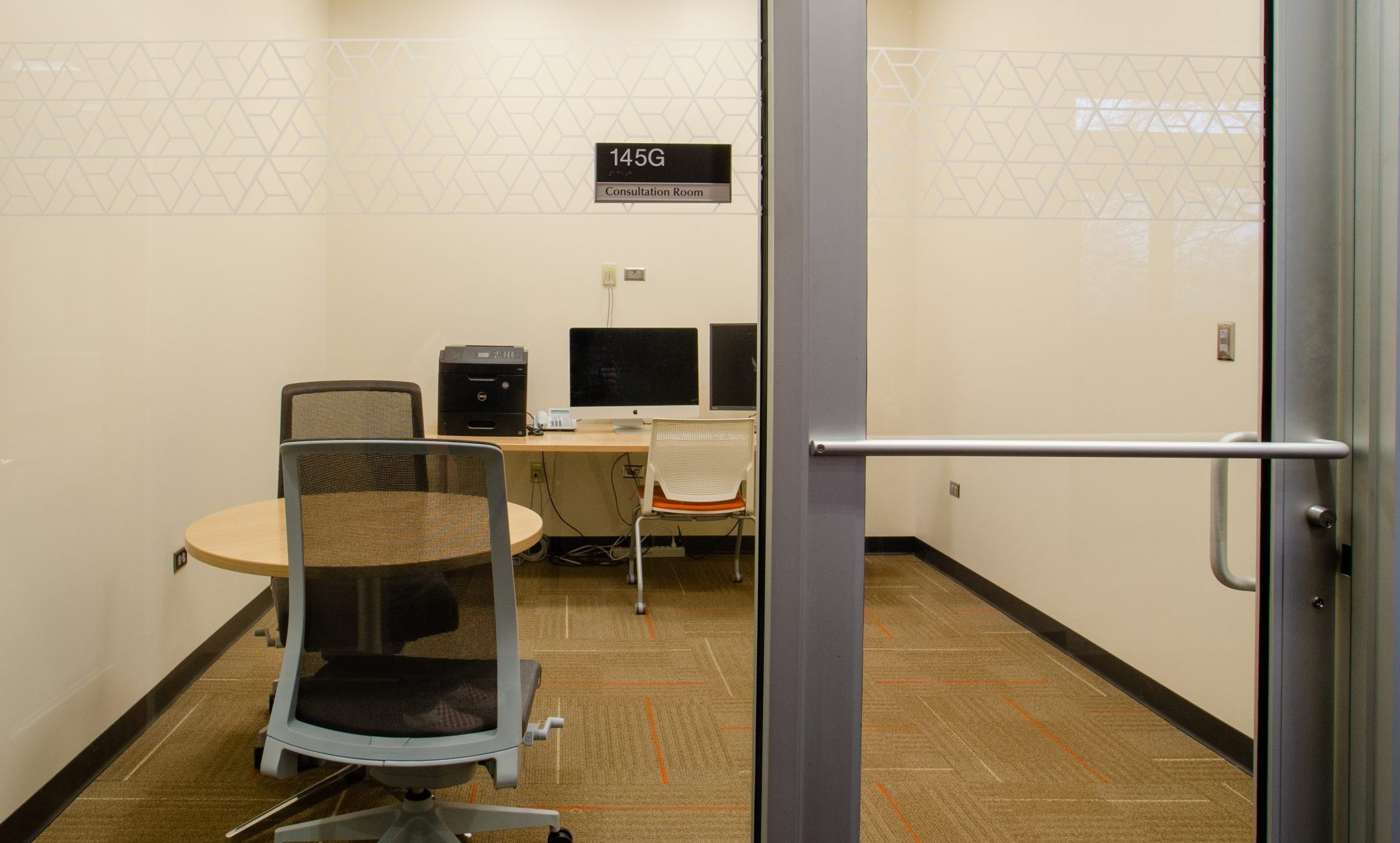 consultation room at hodges library in miles reading room