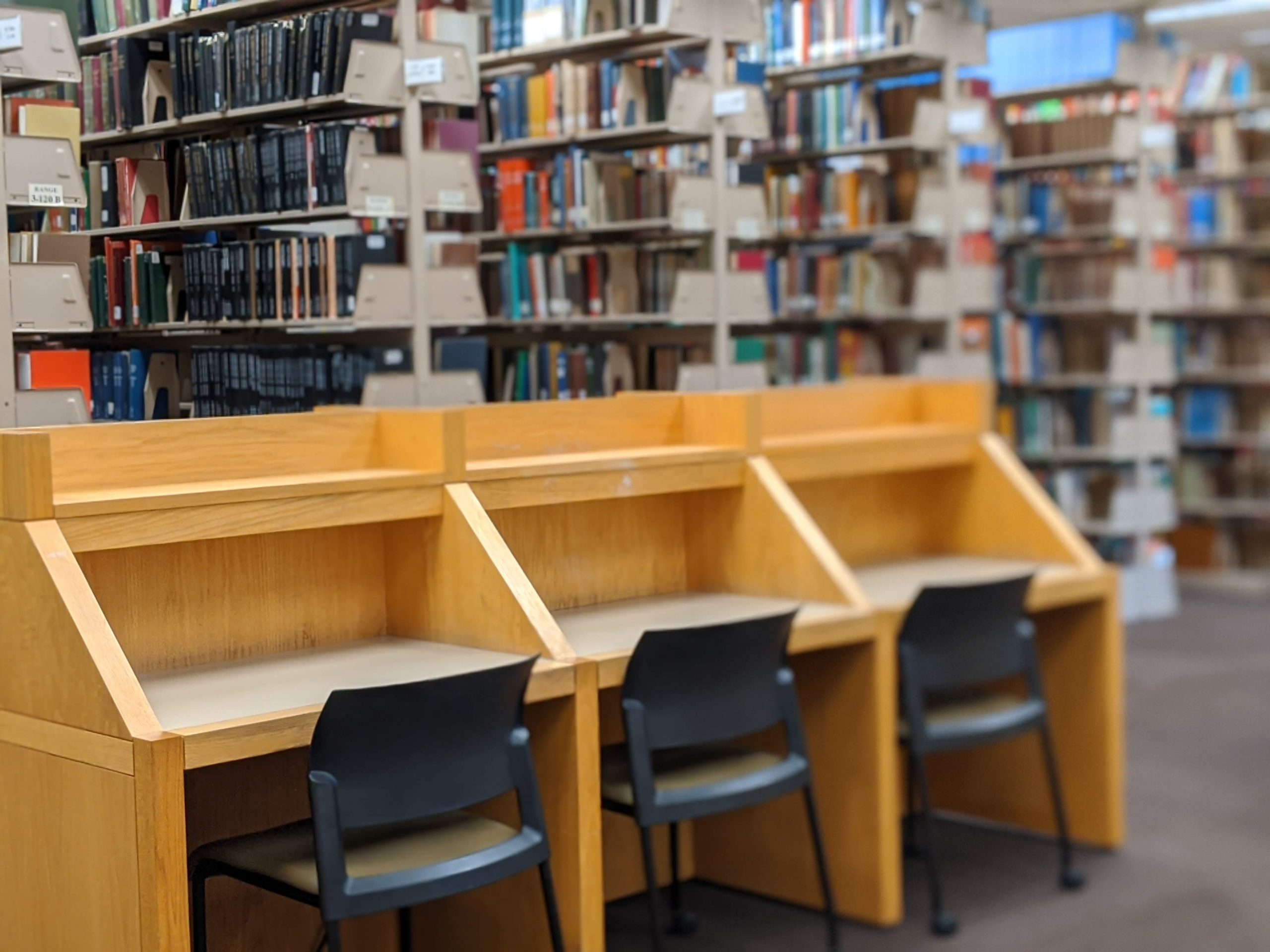 hodges library study carrels at ut knoxville