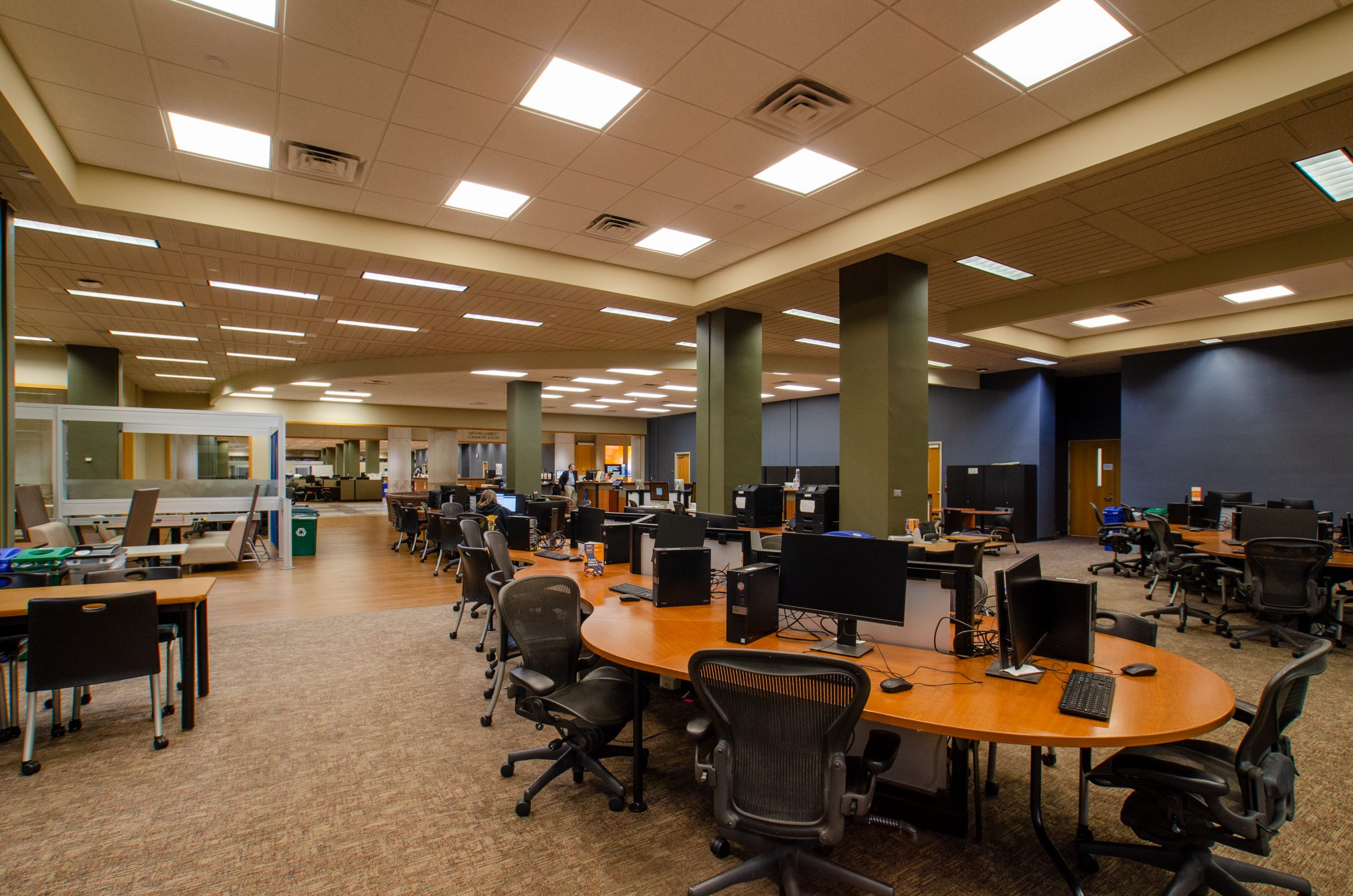commons north in hodges library at university of tennesee knoxville