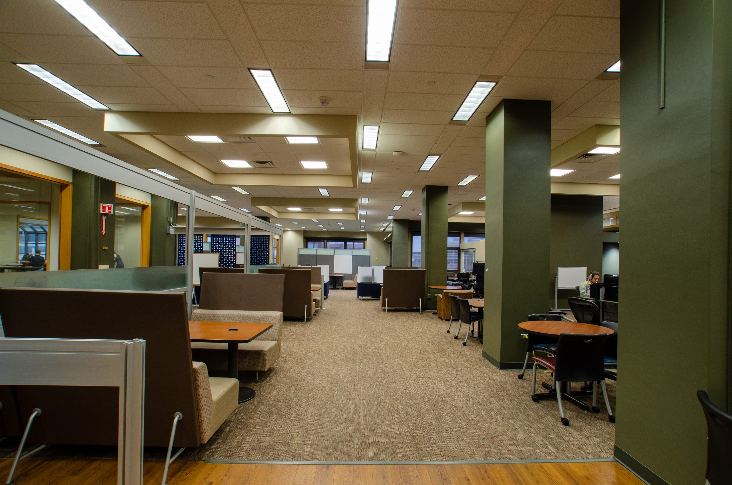 commons south in hodges library at university of tennesee knoxville