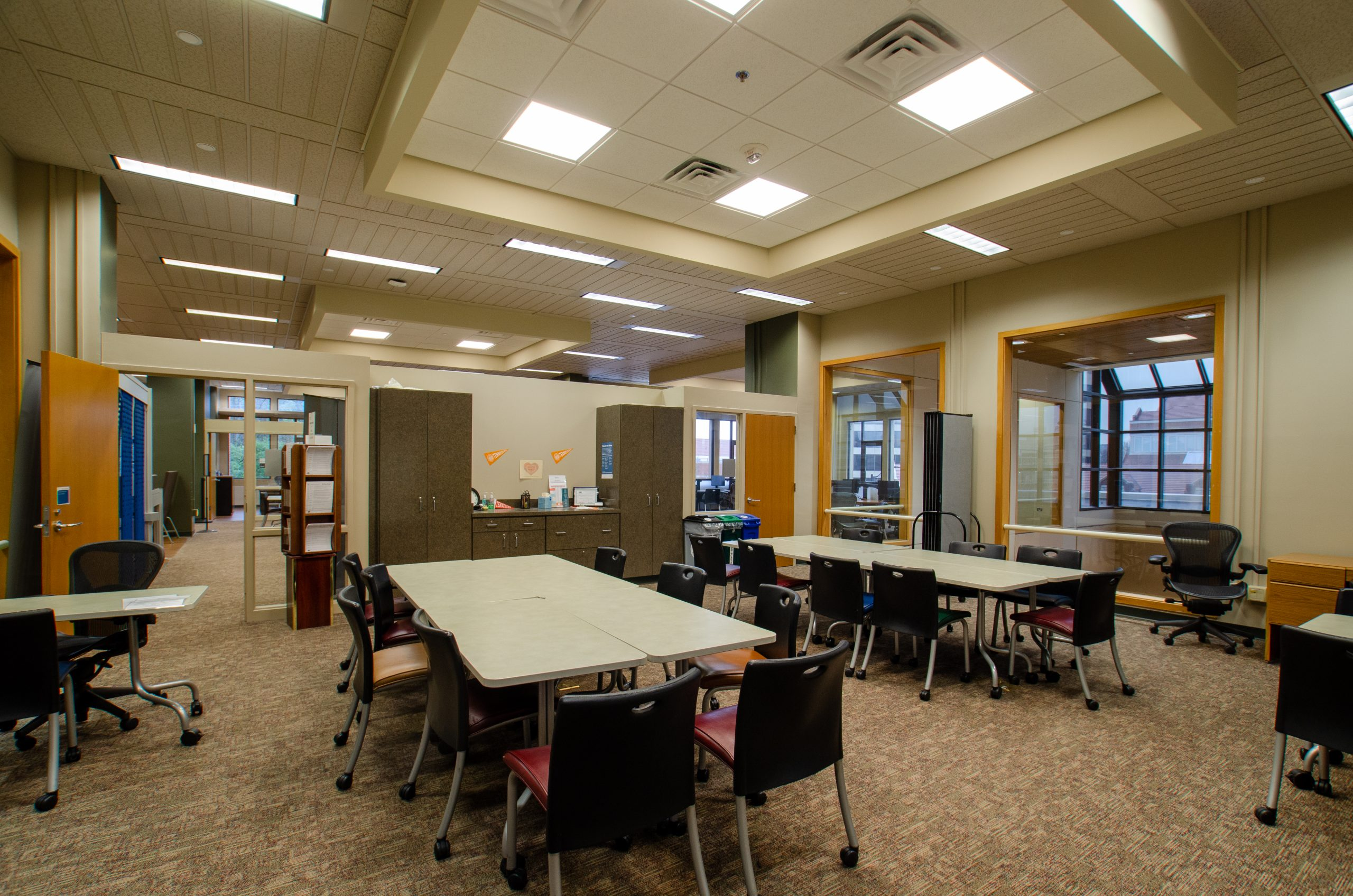 The Student Success Center in the commons at hodges library