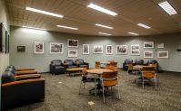 sixth floor lounge in hodges library