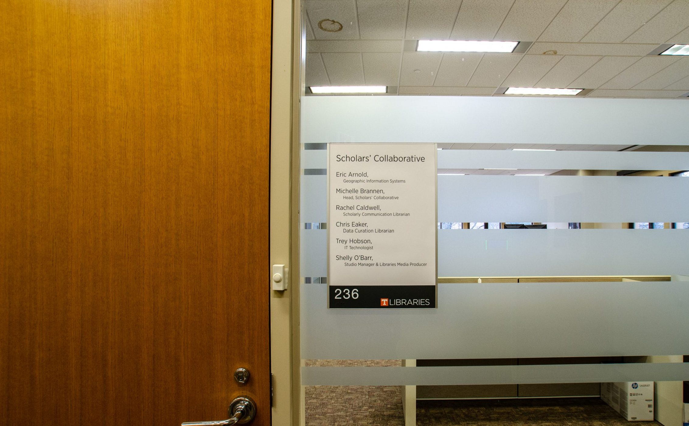 scholar's collaborative in hodges library at ut knoxville