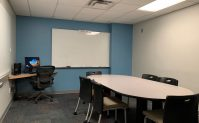 study rooms at pendergrass library